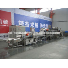 Fresh vegetable processing production line/automatic vegetable washing line