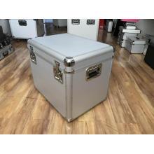 Leere Aluminium-Aufbewahrungsbox mit EVA-Futter