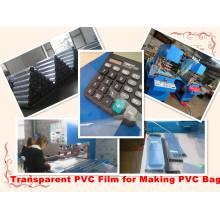 Transparent PVC Film PVC Membrane PVC Material for Making PVC Bag