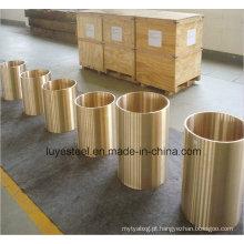 Tubo de liga de cobre tubo de liga de ouro tp1