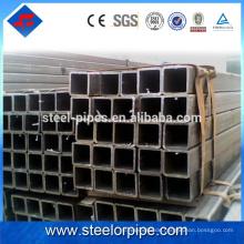 Meistverkaufte Produkte 2016 ms Carbon schwarzer Stahl Vierkantrohr