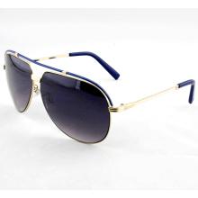 Fashionable Elegant Metal High Quality Sunglasses for Woman (14264)