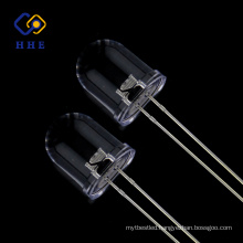 Hot sale 850NM 10mm Round IR Dip led Emitting Chip diode