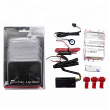 Wholesale Mini RPM Meter Digital Square LCD Display Engine Tach Hour Meter Tachometer Gauge  motorcycle speedometor
