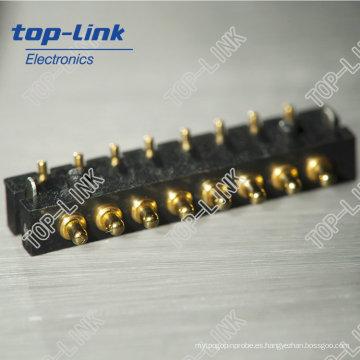 8pin primavera cargado Pogo Pins Connectors (de alto rendimiento, fabricante chino)