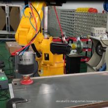 Metal door panel polishing grinding force control system