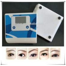 Dispositivo de micropigmentação para maquiagem permanente, fonte de alimentação de maquiagem permanente digital