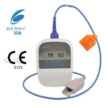 Berry Palm Pulse Oximeter with Bluetooth