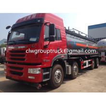 Camión cisterna líquido amarillo de FAW JieFang 32000L
