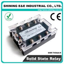 SSR-T40AA-H Igual a Fotek AC a AC 40A SSR Relé de estado sólido