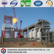 Bâtiment industriel lourd de plancher multi avec la structure métallique