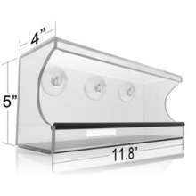 Best Selling Window Bird Feeder House with Sliding Feed Tray
