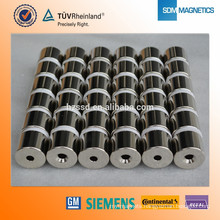 120Degree Working Temperature N38H heat resistant industrial magnets