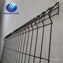 valla de malla soldada con curvas galvanizado con dobleces valla Valla de malla de alambre soldado