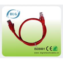Cable de cable de remiendo rj45 a rj45 utp 24awg 4pr cat5e