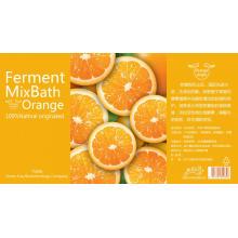 Champú de fragancia naranja