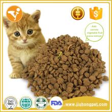 Sabor de pescado fiable y orgánica seca comida para gatos hechos en china