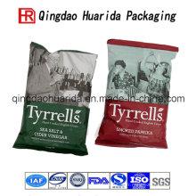 Sac en plastique composé / sac d'emballage de nourriture rapide / sac en plastique de mât