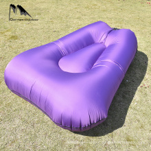 Diamond Shape Inflatable Lounger Sofa Bed with Travel Bag Pouch