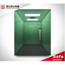 Asia Fuji Factory Freight Elevator Factory Freight Elevator Price Warehouse  Goods Elevators Stainless Steel CN;GUA AC
