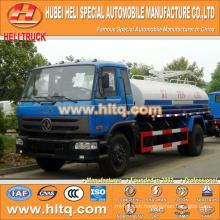 DONGFENG 4x2 10000L dung transport truck 190hp cummins engine