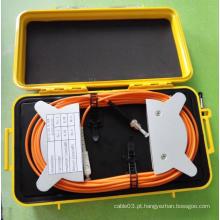 Caixas de lançamento multimodo 50/125 Om2 Fiber Optic OTDR