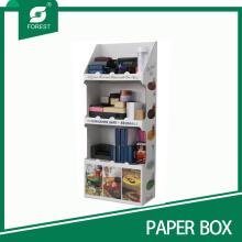 Caja de visualización de papel de diseño personalizado