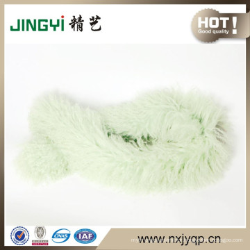 Wholesale Tibetan Mongolian Lamb Fur and Feather Scarf