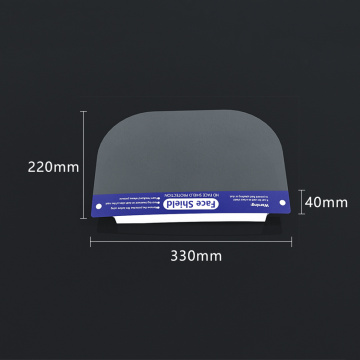 Double Films Anti-fog Face Shield