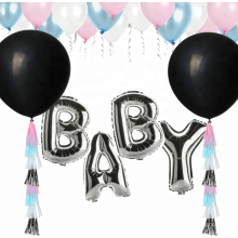 Baby-Dusche Ideen Geschlecht offenbaren Party Ballon