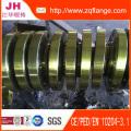 Bride plate ANSI (4 pouces)