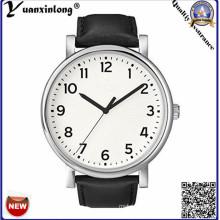 Yxl-345 Fashion Quartz Men′s Watch Promotional Smple Design Leather Wrist Watch Business Men′s Watches Wholesale Clock