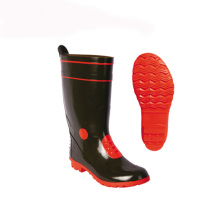 Customized Rubber Cowboy Men Farmer Safety Rain Boots