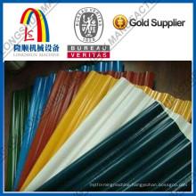 corrugated roofing sheet machine