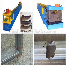 CE standard galvanized steel/stainless steel door frame making/roll froming machine