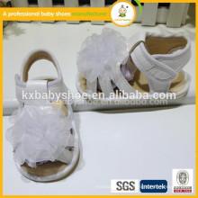 Meistverkaufte weiche Sohle für grüne Farbe Baby Kinder Säugling Sandalen Schuhe