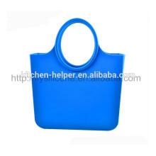 Mais novo design e preço de fábrica durável impermeável saco de mão de silicone de praia