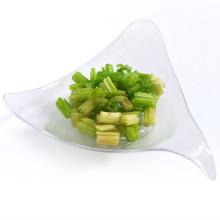 Plato de plástico PP / PS plato desechable plato de estrella en miniatura