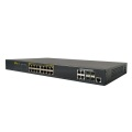 L2 10/100M 16 Ports POE Switch