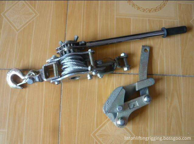 hand wire rope puller