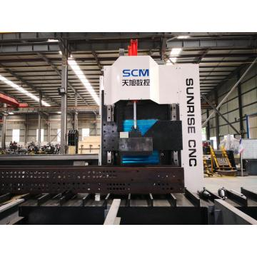 Mesin Spindle H Beam Drilling