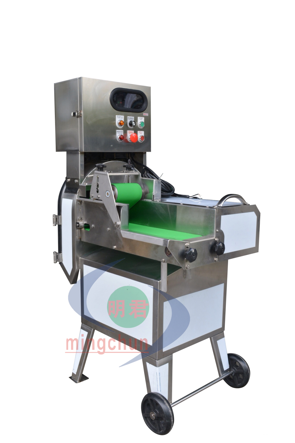 Slicing machine for vegetables