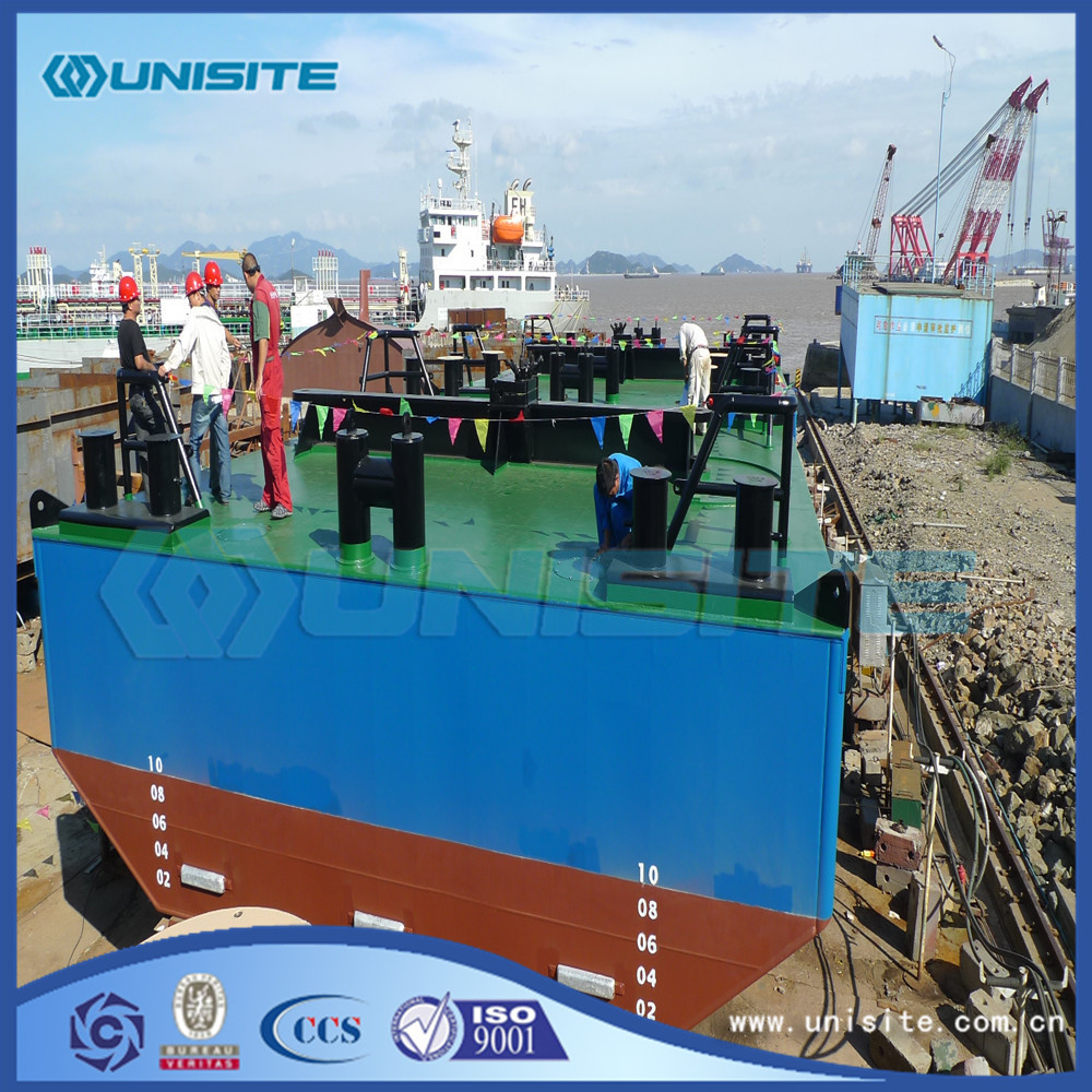 Dredging Steel Boat Pontoons Flooring for sale