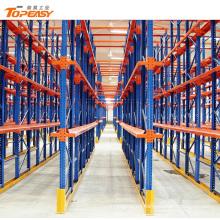 estante de paletas de almacenamiento de metal pesado para almacenamiento