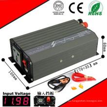 Inversor DC-AC de 400W Inversor de onda sinusoidal pura de 12VDC o 24VDC a 110VAC o 220VAC