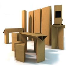 Whole DIY Cardboard Furniture