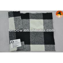 Tecido de lã de cashmere sarja para casaco