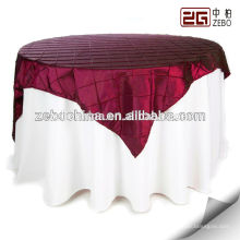 100% Polyester New Design Wholesale Decoration Banquet Table Cloth