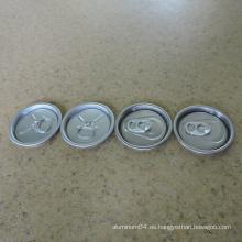 Bebida de frutas Bebida energética Puede con 50mm 200 tapas de aluminio