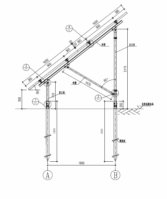 Ground Screw Pole Mounting System